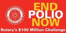 Rotary Club End Polio campaign